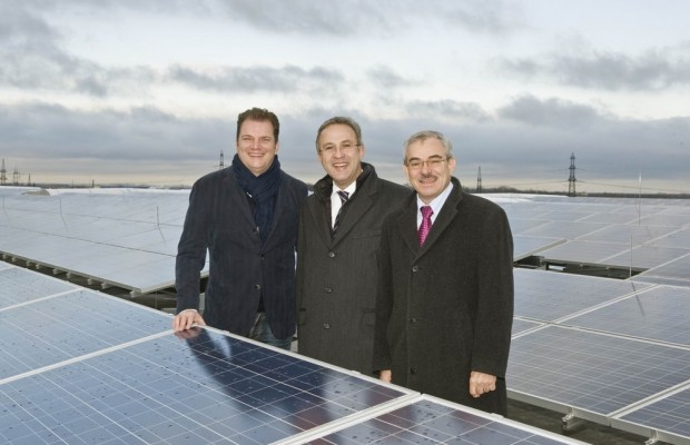 Photovoltaikanlage bei Daimler in Betrieb genommen