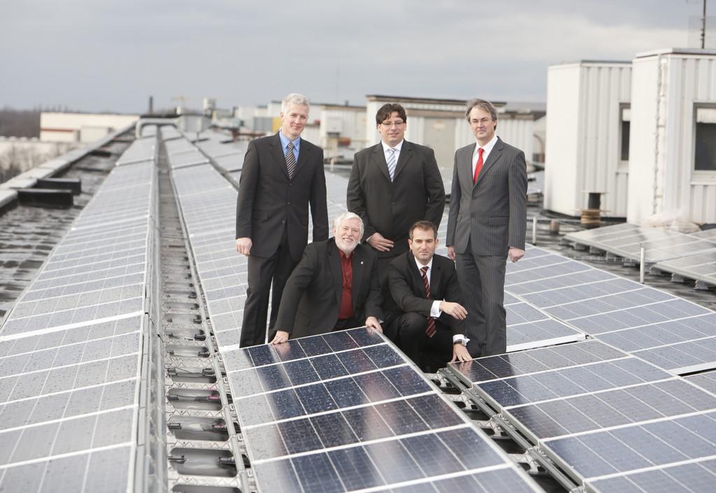 Photovoltaikanlage bei Volkswagen Nutzfahrzeuge eingeweiht