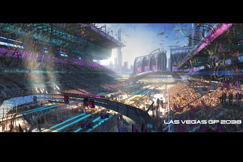 Race Track in Las Vegas