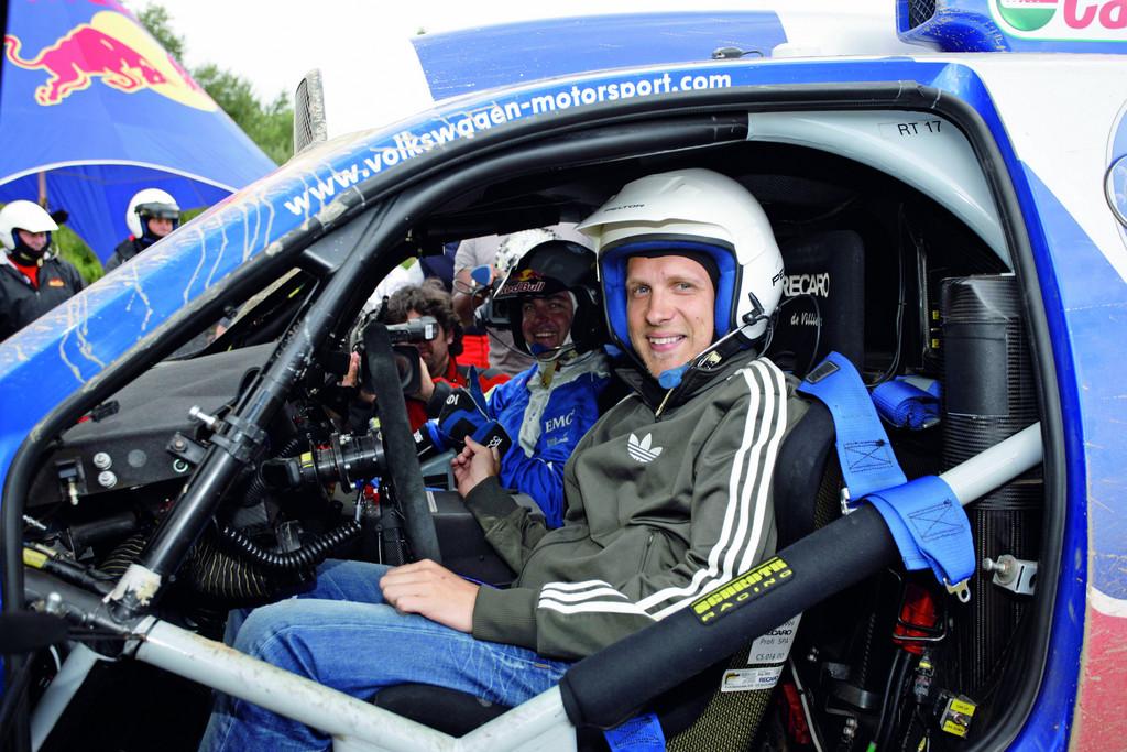 Race of Champions: Promi-Rennen mit dem VW Up