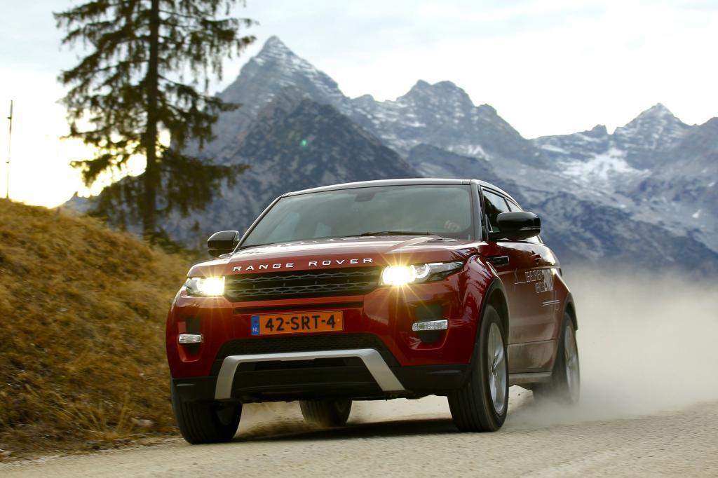 Range Rover Evoque eD4 - Es geht auch ohne Allrad