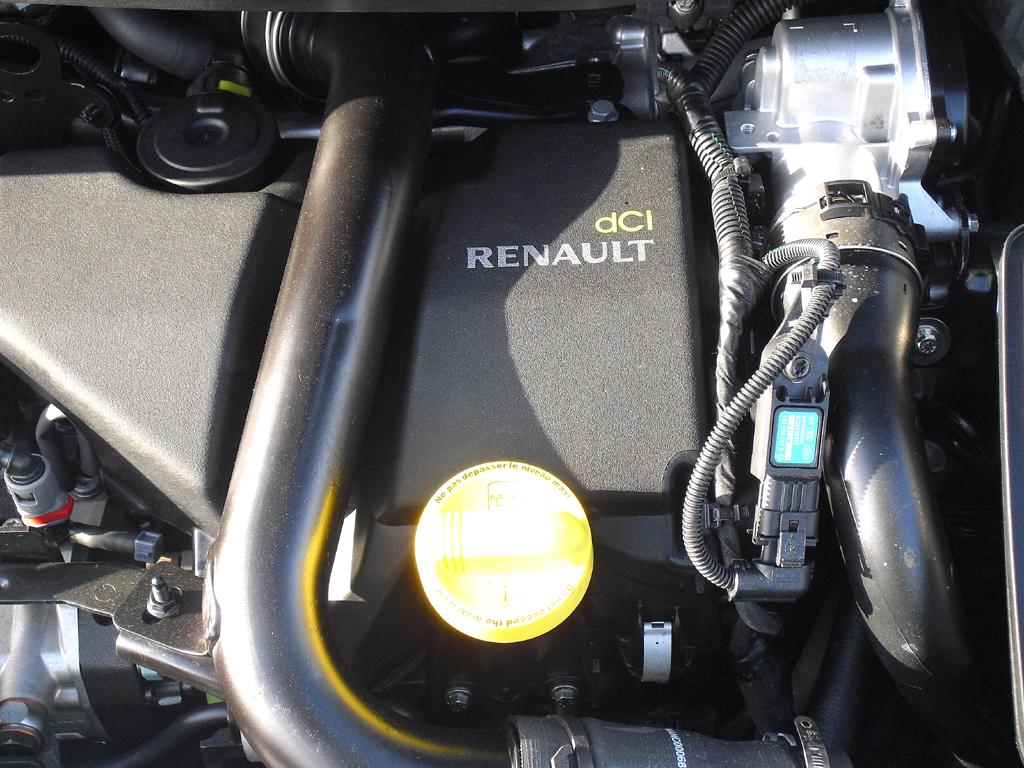 Renault Twingo: Blick unter die Haube, hier beim Turbodiesel mit 63 kW/86 PS.