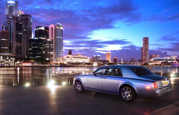Rolls Royce 102EX beendet Tour um die Welt