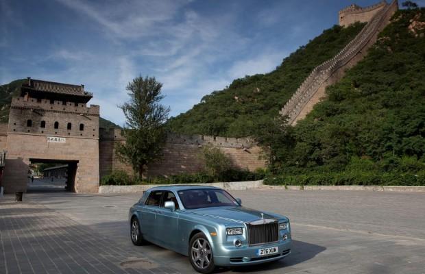 Rolls-Royce 102EX zurück von Welt-Tournee