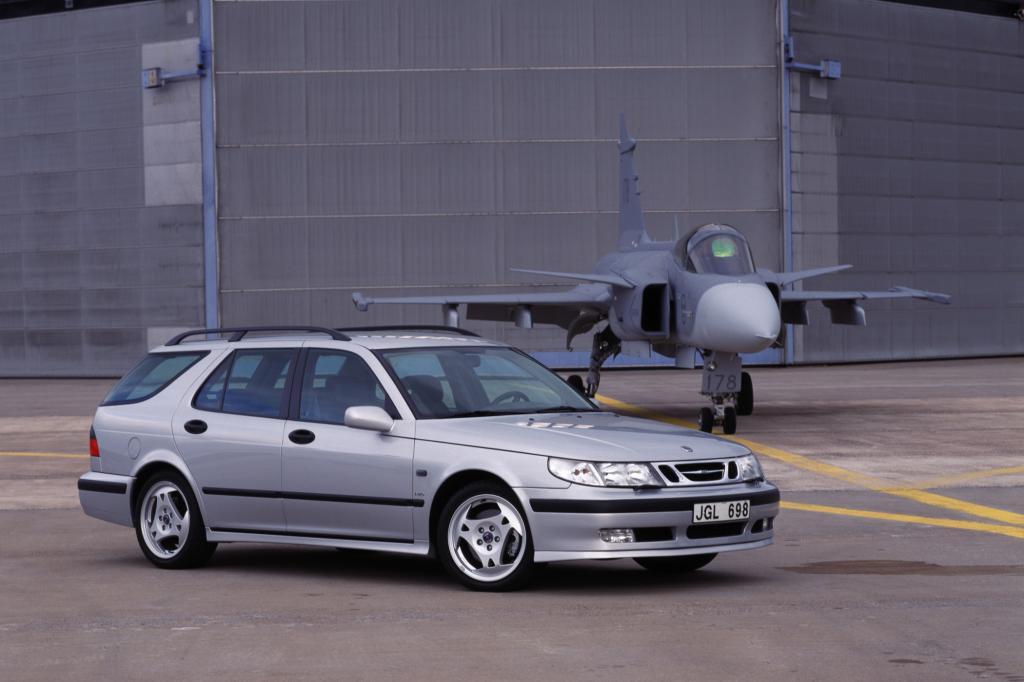 Saab 9-5 AeroSportCombi, 2000