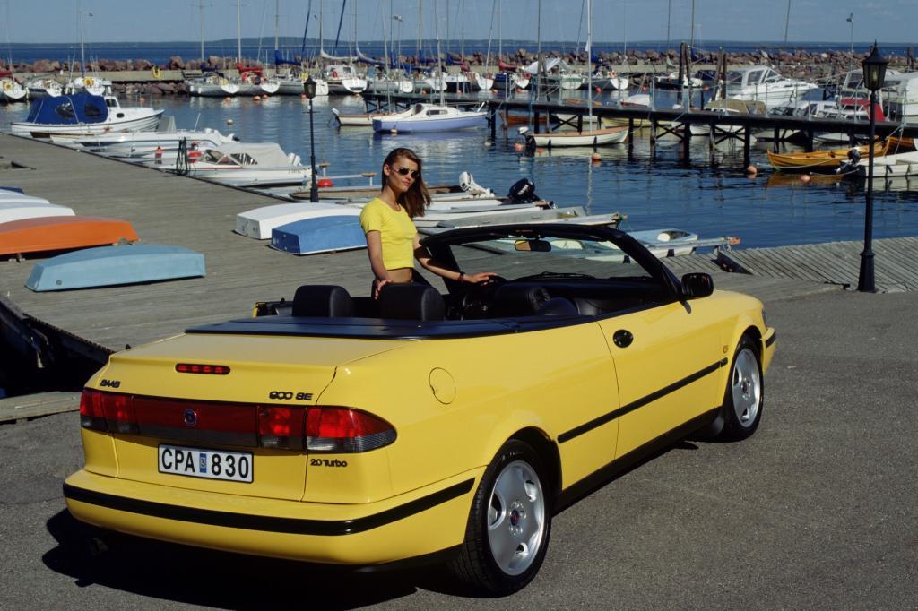 Saab 900 CSE Cabrio, 1998