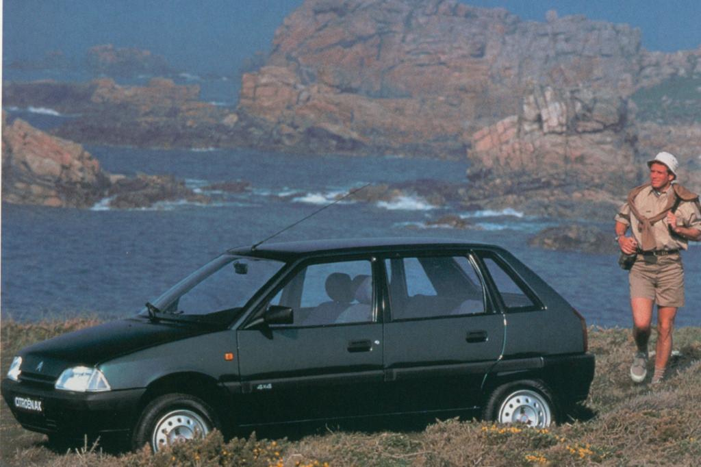 Seit 1991 gab es den AX auch mit Allradantrieb