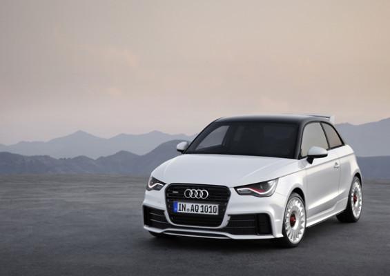 Sportliches Kompaktauto: Der Audi A1 quattro kommt