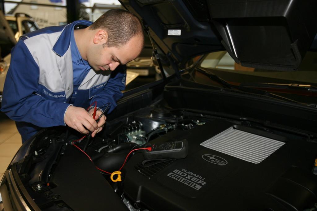 Subaru-Techniker-Weltmeisterschaft in Tokio