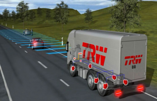 TRW baut skalierbare Kamera für europäischen Nutzfahrzeughersteller