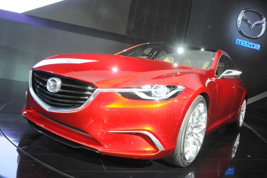 Tokio 2011: Mazda gibt Ausblick auf 6er-Nachfolger