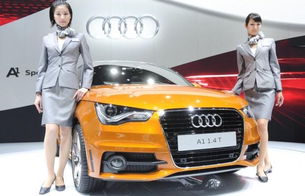 Tokio 2011: Mehr Platz im Audi A1 Sportback