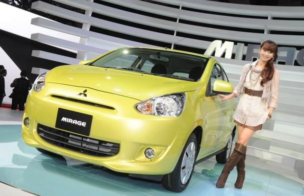 Tokyo 2011: Mitsubishi Mirage - Weltauto mit E-Antrieb