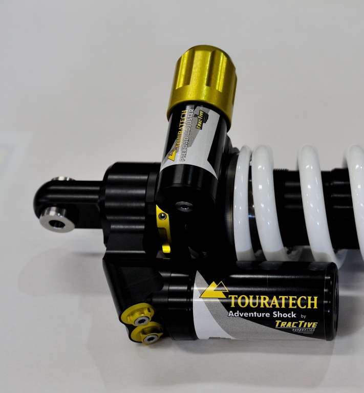 Touratech Suspension by Tractive: Spitzenfahrwerke für BMW-Serienmotorräder