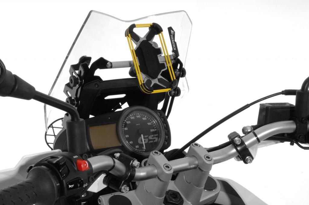 Touratech iBracket: iPhone Lenkerhalterung für Motorräder