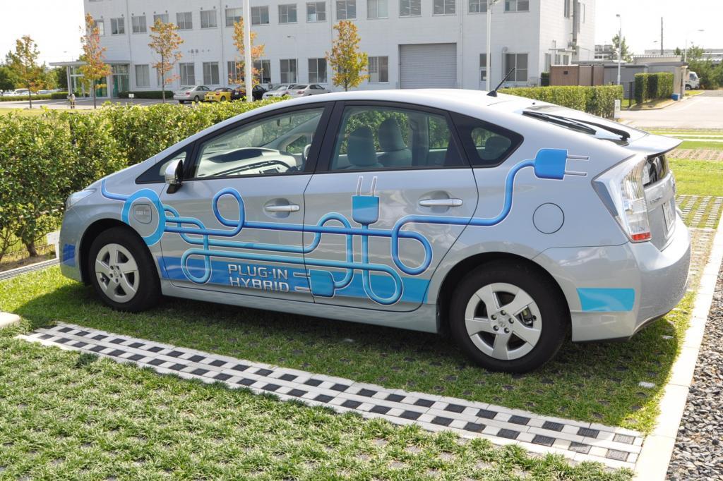 Toyotas neue Parkplätze sollen weniger Hitze abstrahlen als konventionelle Stellplätze