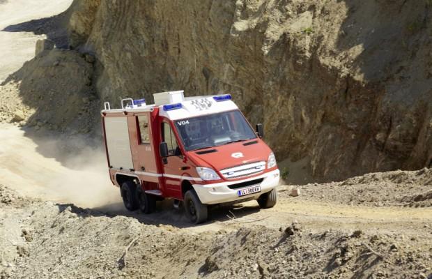 Trotz Normen sind Feuerwehrautos individuell