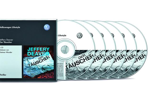 Volkswagen bietet Hörbücher an