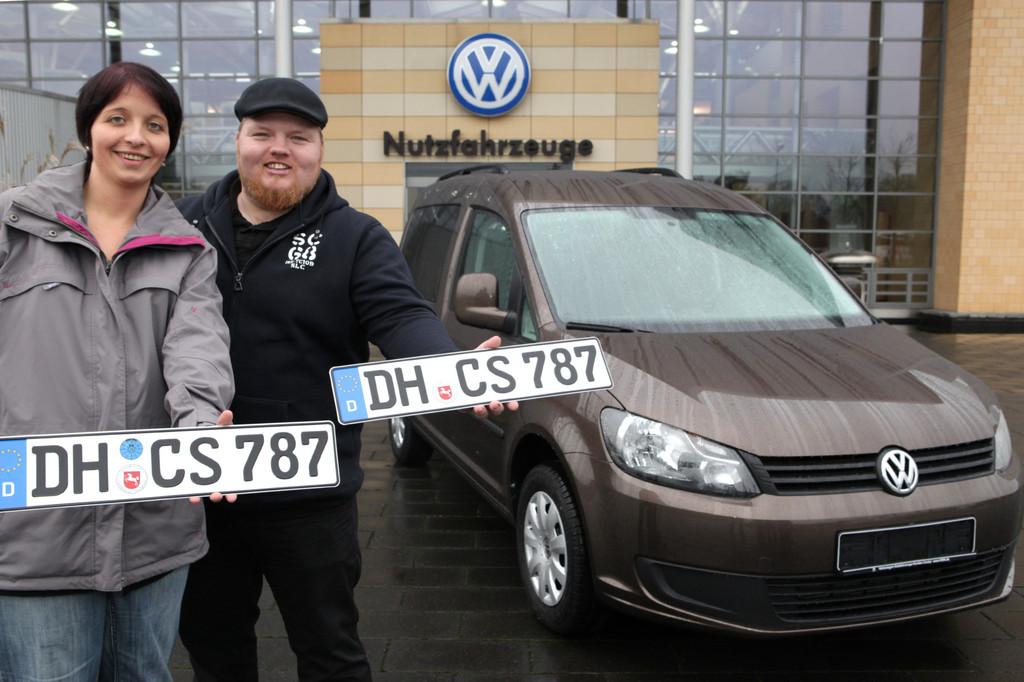 Volkswagen verloste Caddy an nachwuchsfreudige Facebook-User
