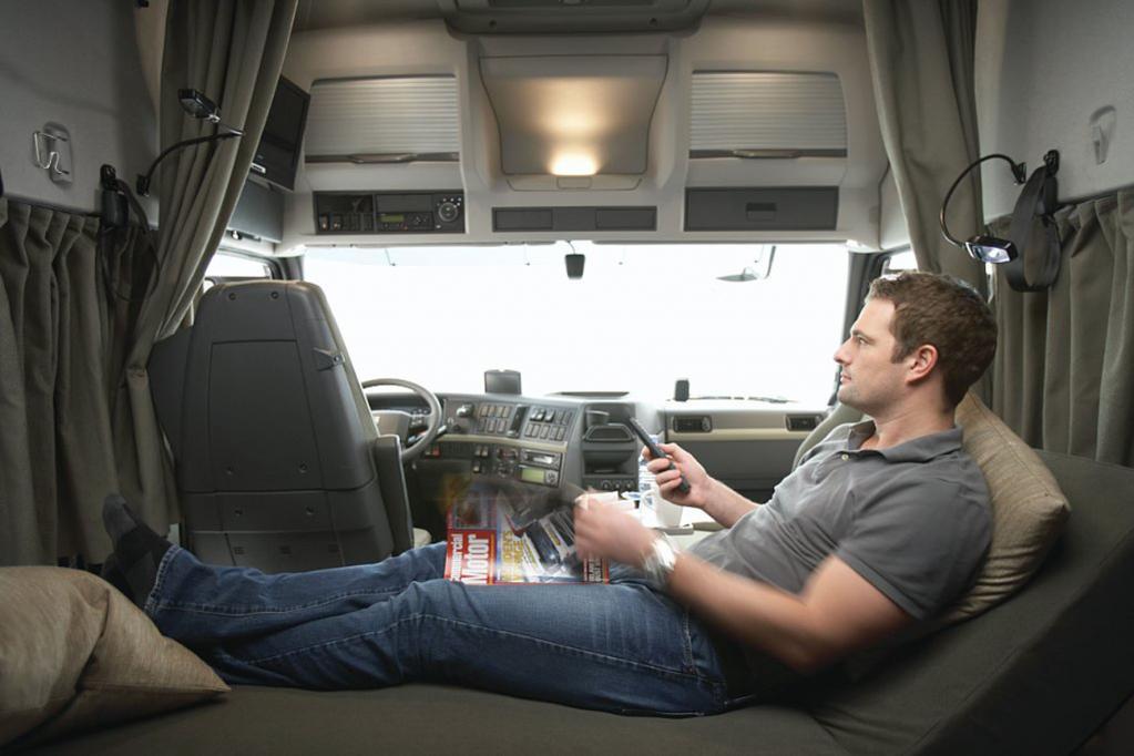 Volvo-Lkw-Fahrer besser vor Müdigkeit geschützt