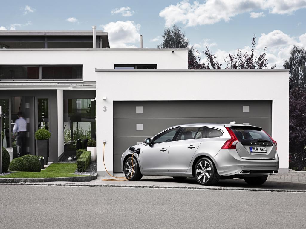 Volvo V60 Plug-in-Hybrid - Erst elektrisch, dann mit Diesel