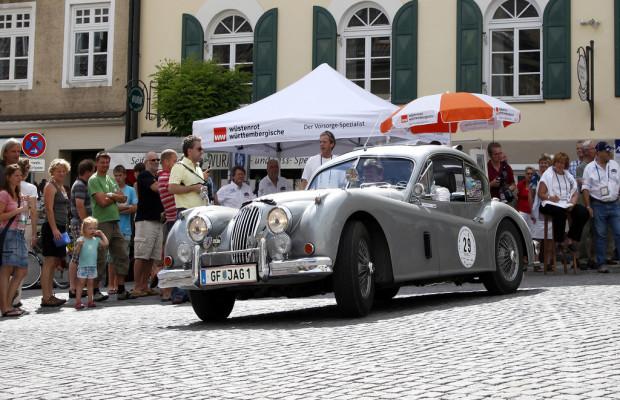 WürttClassic 2012 in Berchtesgaden und auf der Roßfeld-Panoramastraße