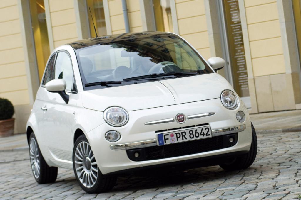 Werstabilster Kleinstwagen ist der Fiat 500