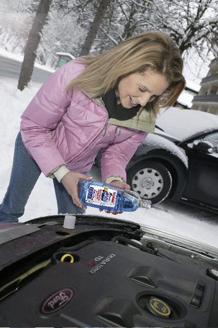 Winter-Pflegemittel in ausreichender Menge vorhanden
