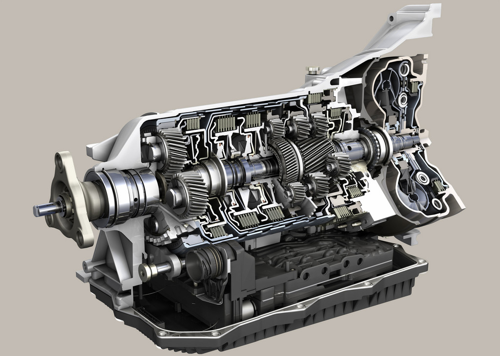 ZF 8-Gang-Automatgetriebe in China prämiert