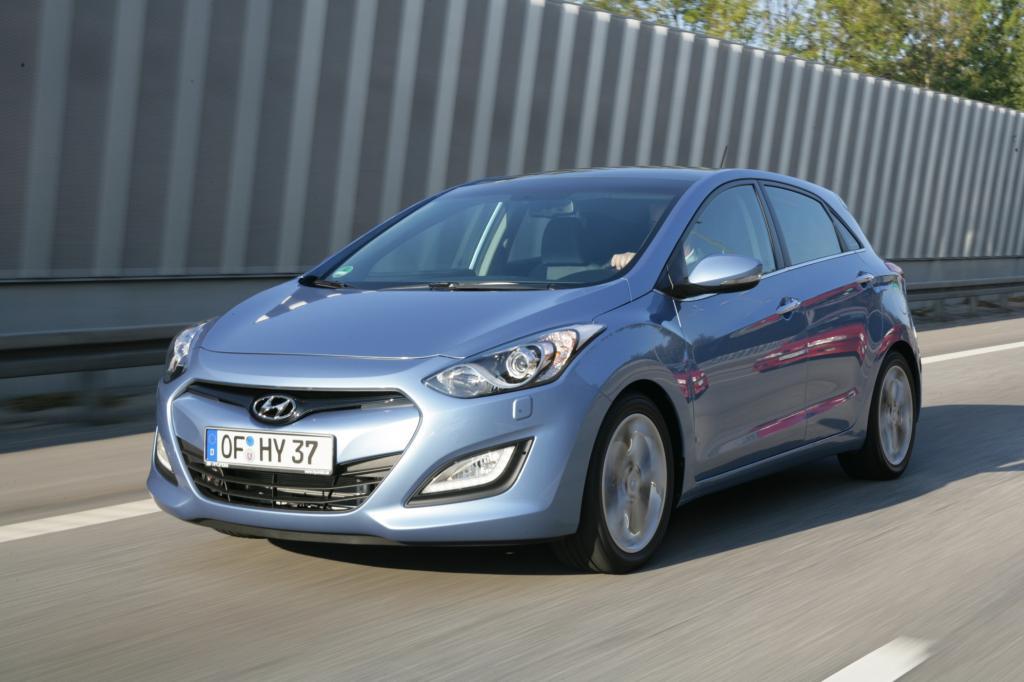 Zum härtesten Golf-Konkurrenten könnte der Hyundai i30 werden. Zumindest VW-Chef Martin Winterkorn scheint vor dem bereits im Mä