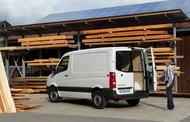 Zweiter Biturbo-Diesel für den Volkswagen Crafter