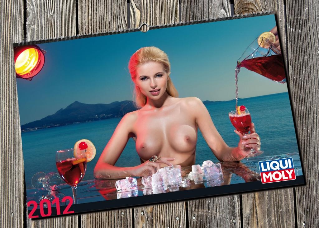 auto.de-Weihnachtsgewinnspiel: LIQUI MOLY Erotikkalender 2012 - Urlaubsstimmung in der Werkstatt