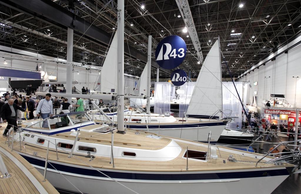 boot 2012: Segelyachten und Segelboote