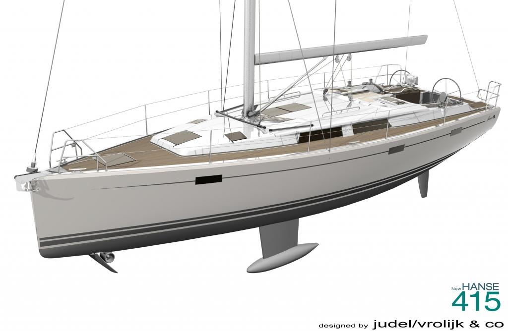 boot Düsseldorf 2012: Hanse 415 - Neue Segelyacht feiert Weltpremiere