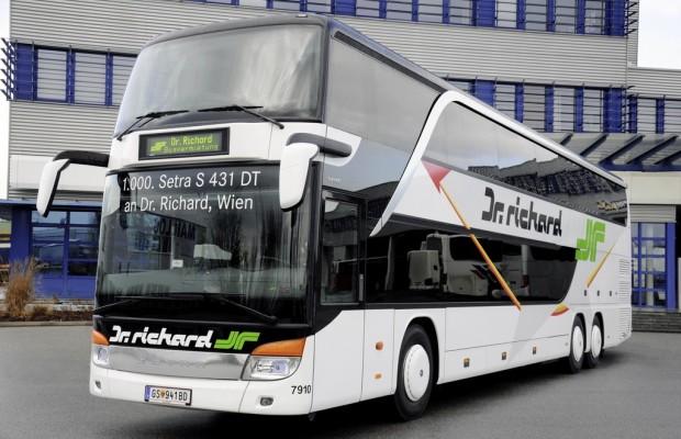 1000. Setra-Doppelstockbus in Österreich im Einsatz