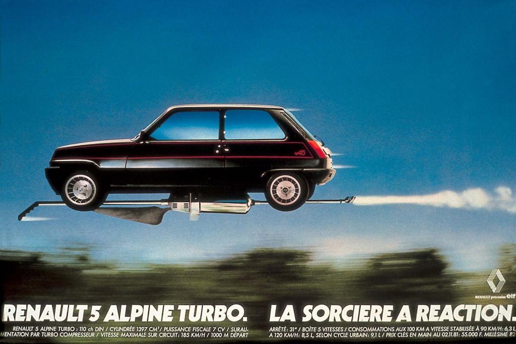 Anzeige für den Alpine Turbo