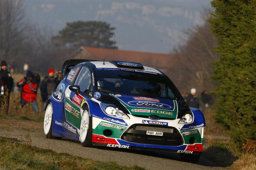 Auch Ford mischt in der WRC mit