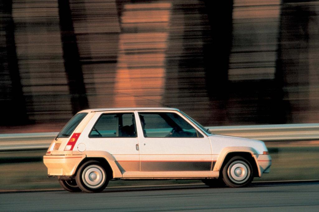 Auch in der zweiten Generation gab es einen Turbo