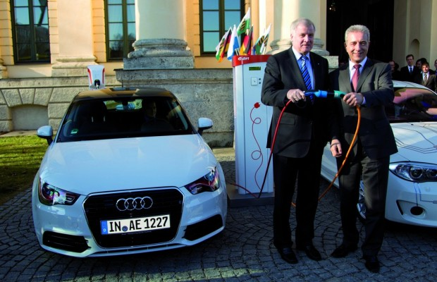 Audi bewirbt sich mit A1 E-tron für das