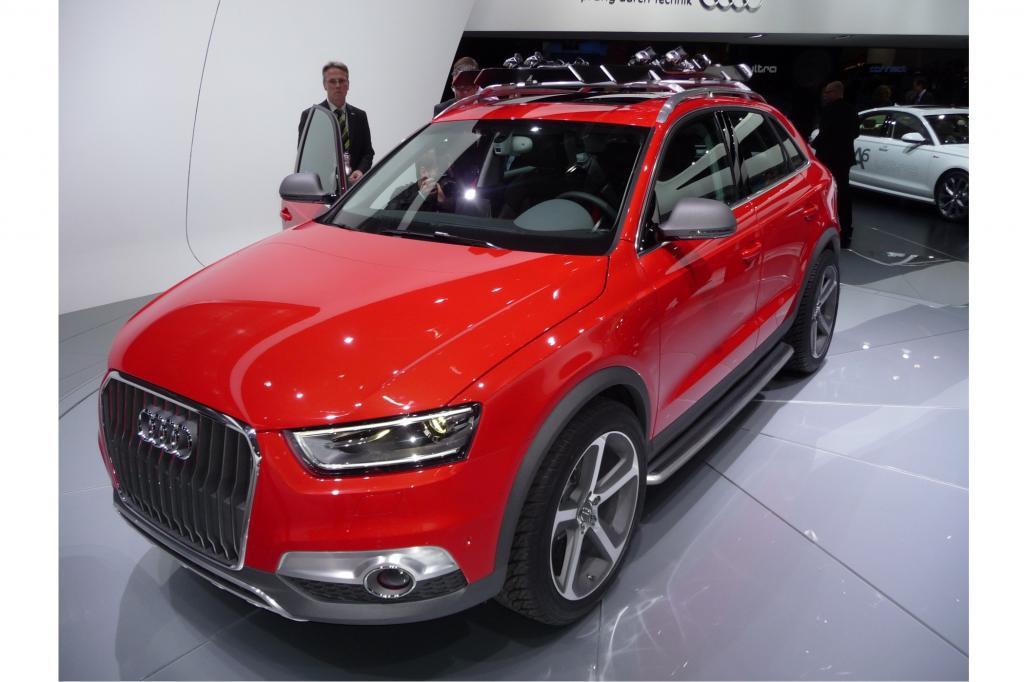Audi hat den Q3 nach US-Geschmack umgestaltet