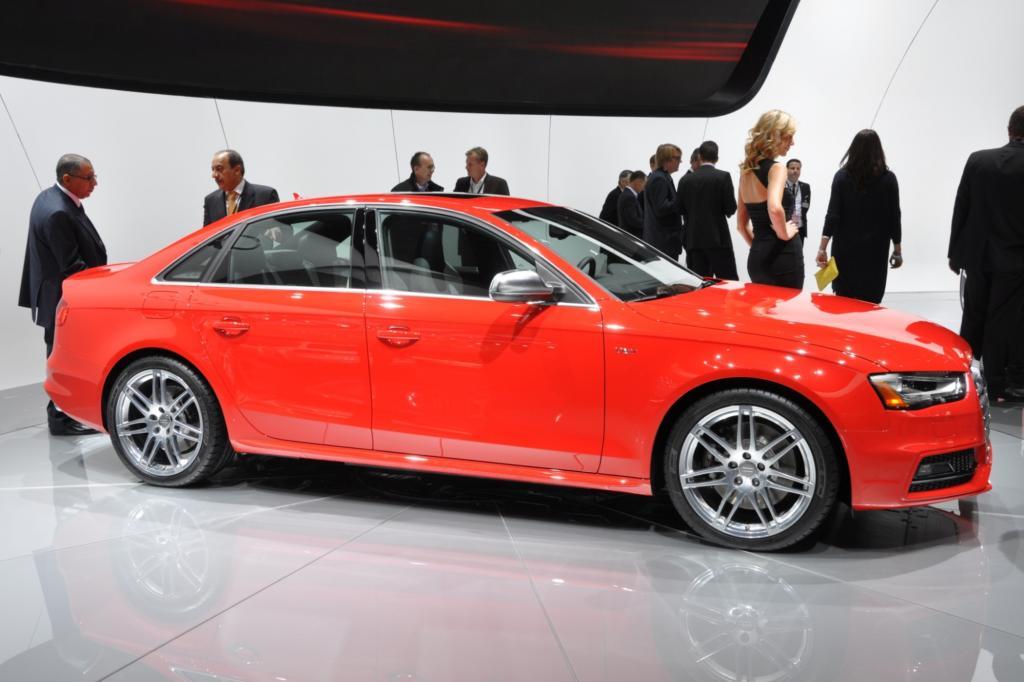 Audi hat den gelifteten S4 mit nach Detroit gebracht