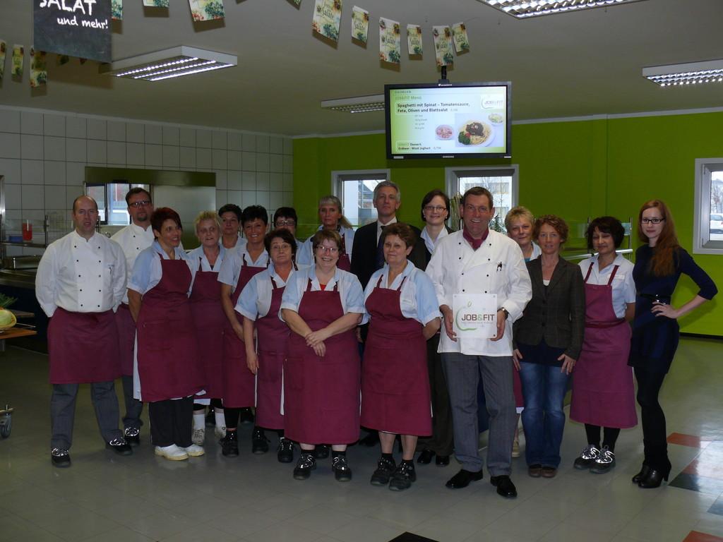Auszeichnung für Evobus-Gastronomiebereich in Neu-Ulm