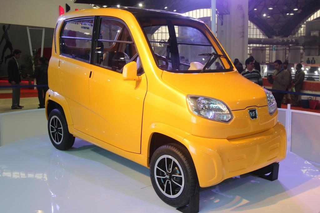 Auto Expo in Indien - Es muss nicht immer Tata sein