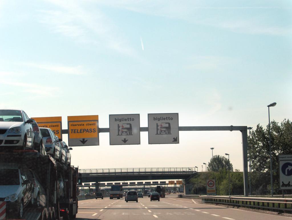 Autobahn-Maut in Italien teurer