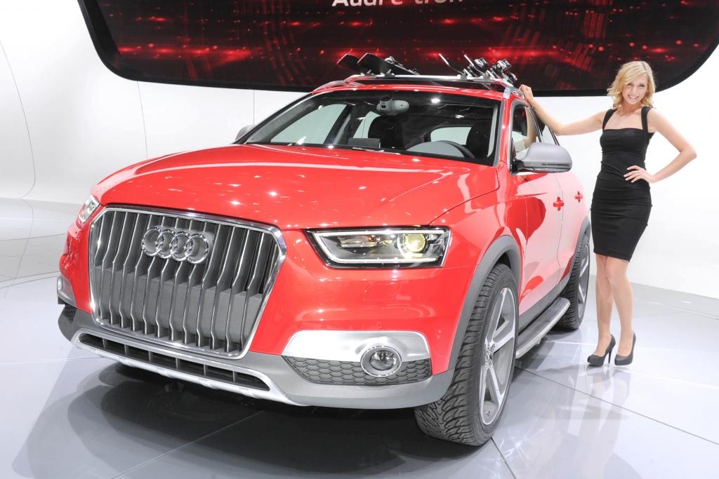 Automesse Detroit: Audi Q3 Vail - Er wird kommen