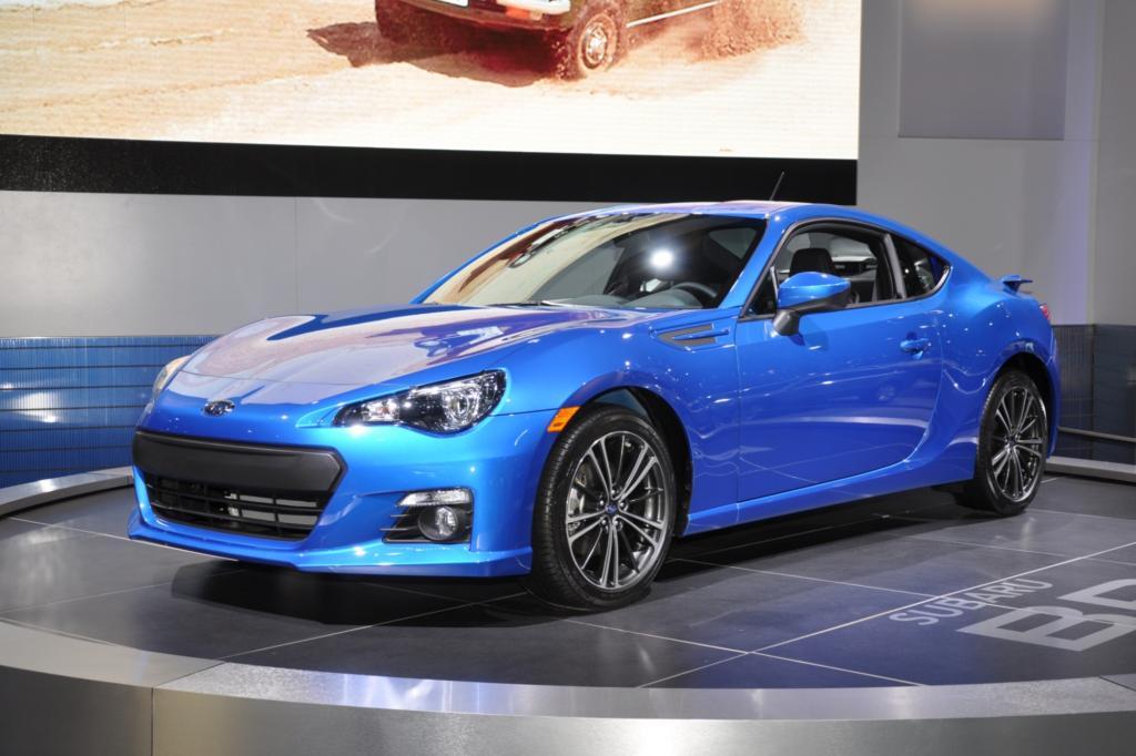 Bei Subaru heißt der Sportwagen BRZ
