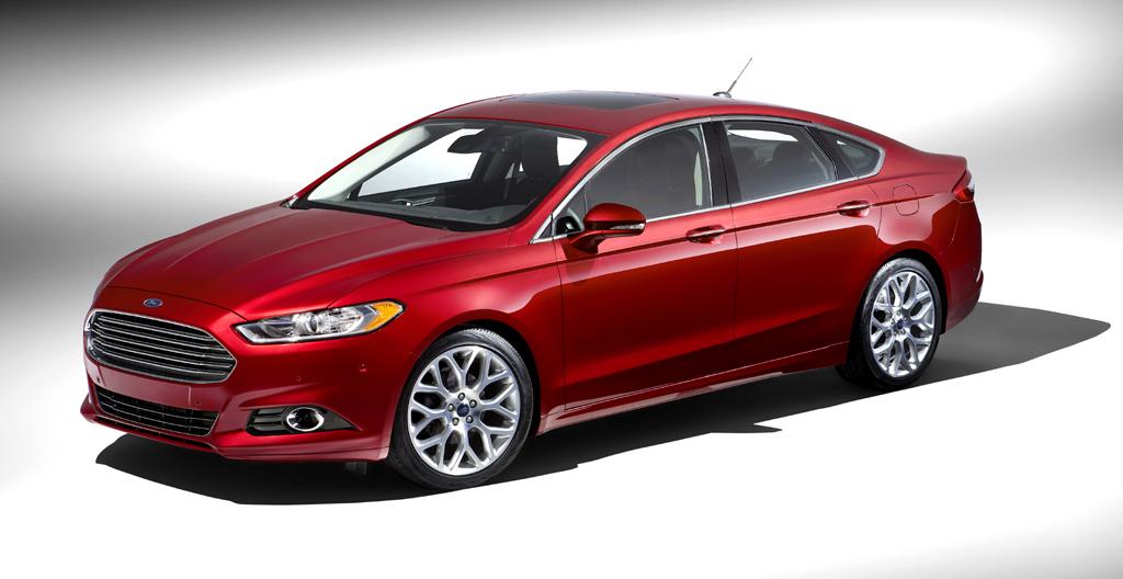 Bei der Autoschau in Detroit gibt der Fusion gerade einen Ausblick auf den nächsten Mondeo.