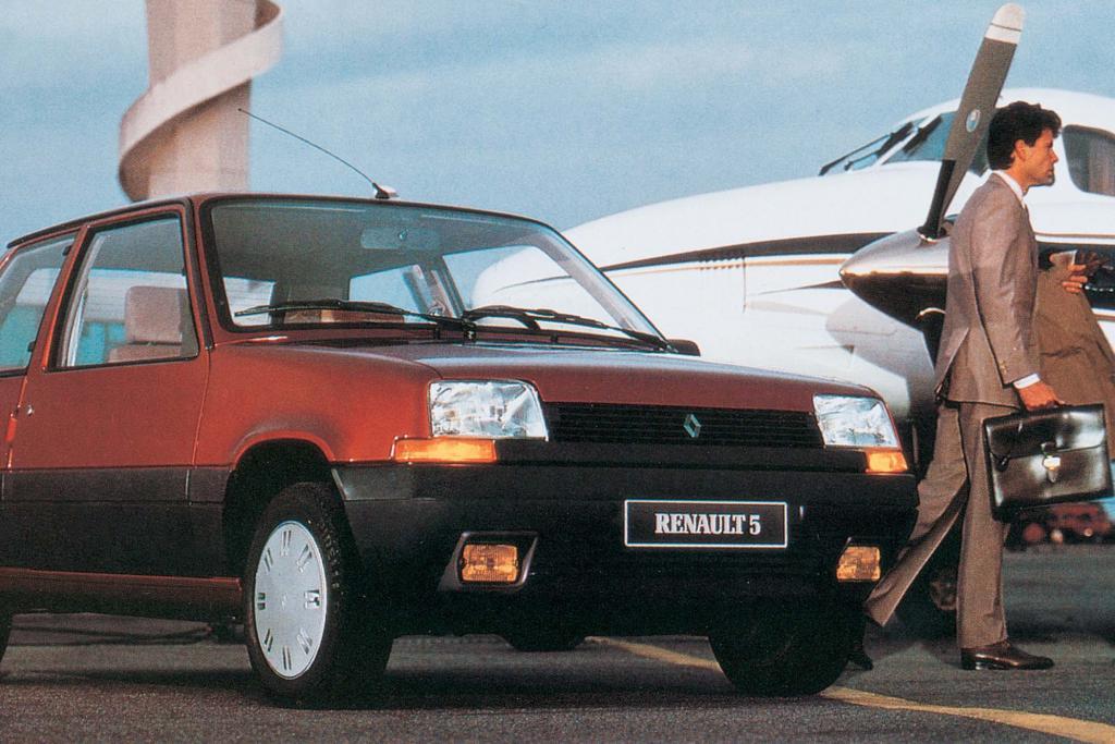 Bereits 1984 war der R 5 II auf dem Genfer Salon zu sehen