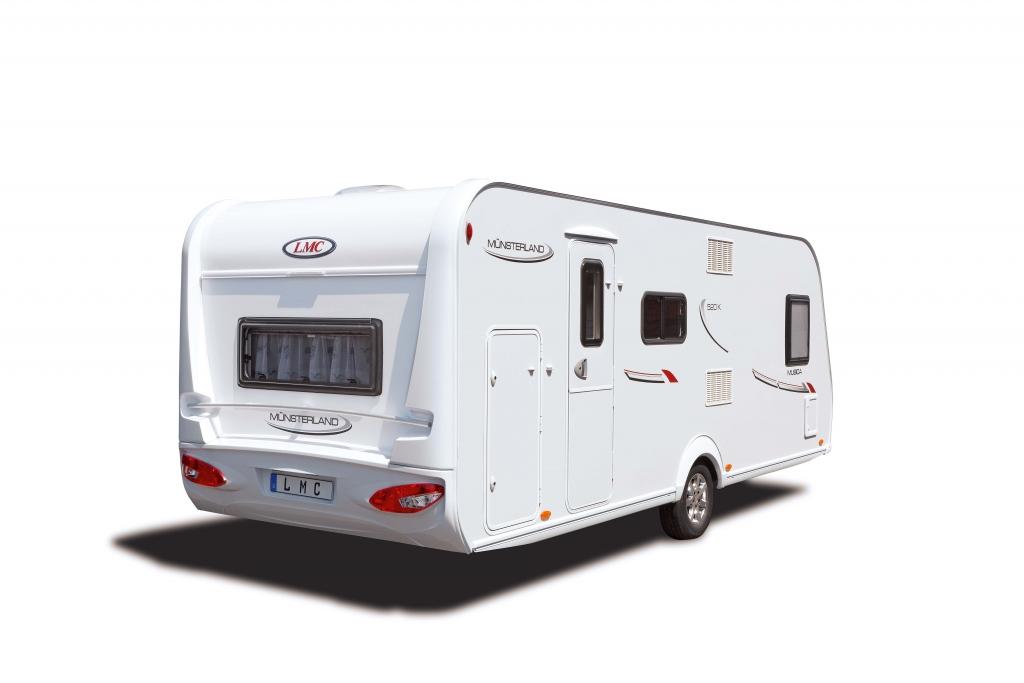 CMT Stuttgart 2012: Caravan Sondermodell LMC Musica Spring 503 E