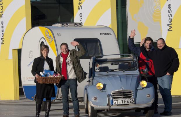 CMT Stuttgart 2012: Caravan-Tramper hat es nach Stuttgart geschafft